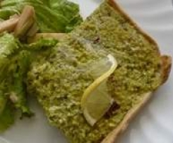 Vegan Quiche s jáhlami a bylinkami