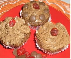 Čokoládové Sofinčiny muffinky